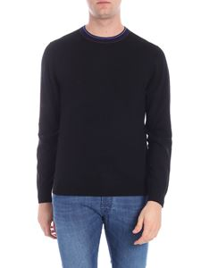 PS by Paul Smith - Black pullover with logo embroidery