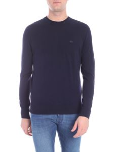 Lacoste - Dark blue pullover with logo