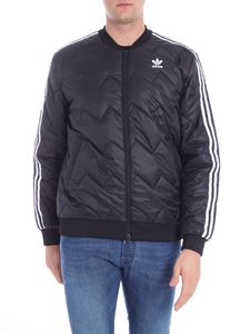 "Adidas Originals - ""SST Quilted"" black puffed jacket"