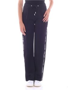 Kenzo - Black sweat pants with branded stripes