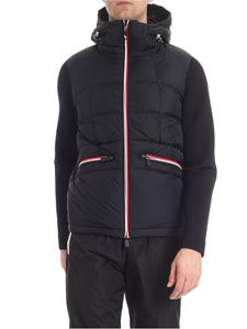 Moncler Grenoble - Black cardigan with logo