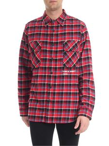 Off-White - Red check shirt