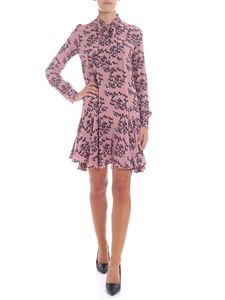 L'Autre Chose - Pink dress with all-over print