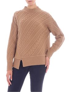 "Max Mara Weekend - Camel-colored ""Grolla"" pullover"