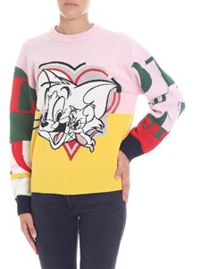 Iceberg - Multicolor pullover with embroideries