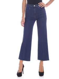 "J Brand - ""Joan Crop"" blue jeans"