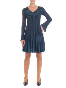 Kenzo - Blue and black knitted dress