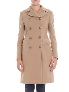 Tagliatore - Camel colored coat with buttons