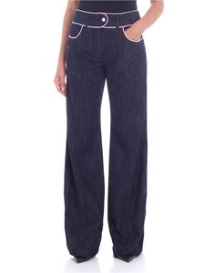 Moschino - Blue palazzo jeans