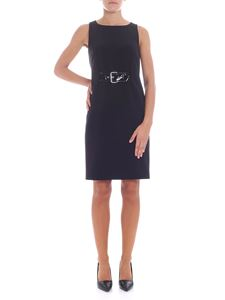 Moschino - Sleeveless Black dress with buckle