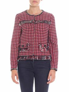 Moschino Boutique - Multicolor knitted jacket