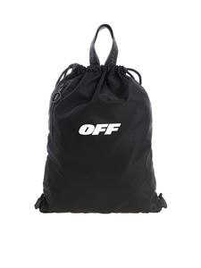 "Off-White - Zaino ""Wing Off"" nero"