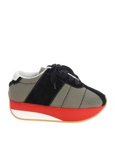 Marni - Sneakers with mesh insert