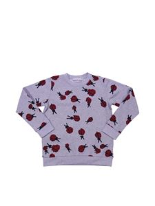"Stella McCartney Kids - Felpa ""Betty"" grigia melange"