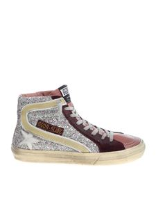 "Golden Goose Deluxe Brand - ""Slide"" multicolor sneakers"