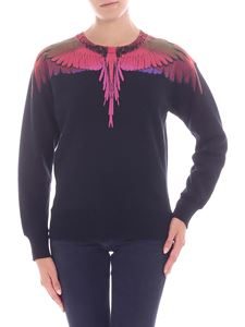"Marcelo Burlon - Felpa ""Color Wings"" nera"