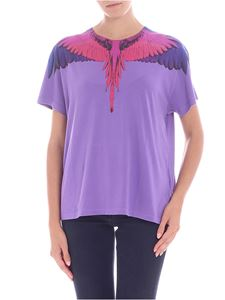 "Marcelo Burlon - T-shirt ""Wings"" viola"
