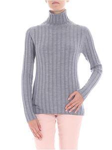 Aspesi - Grey ribbed turtleneck