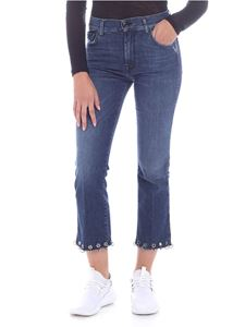 """7 For All Mankind - """"Cropped boot"""" blue jeans"""