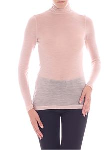 Semicouture - Top collo alto rosa