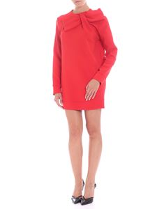 Parosh - Red dress with bow