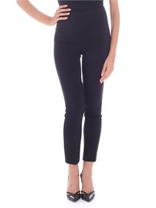 Parosh - Tailored pleated black trousers