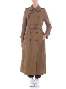Aspesi - Army green padded trench coat