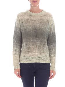 Ballantyne - Green crew-neck knitted pullover
