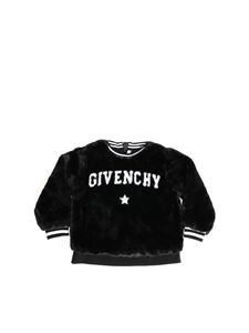 Givenchy - Black eco-fur pullover