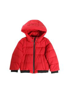 "Woolrich - ""Puffy Trenton"" red down jacket"