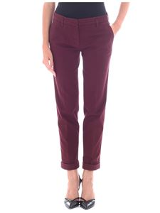 Aspesi - Wine-red color trousers