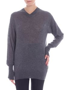 Helmut Lang - Grey cashmere sweater
