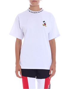 "GCDS - ""Mickey Mouse"" white t-shirt"
