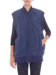 "Adidas by Stella McCartney - Gilet imbottito ""Yoga"" blu"