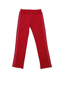 Givenchy - Red branded sweat pants