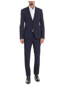 Emporio Armani - Blue two buttons suit
