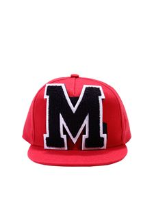 MSGM - Red cap with logo patch