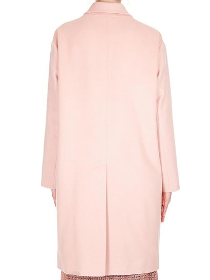 Dsquared2 - Pink wool lined coat