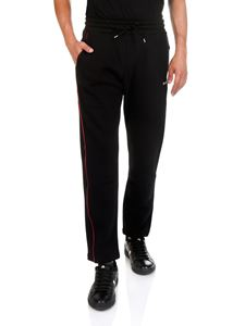 MSGM - Black cotton sweatpants