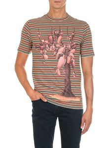 "Loewe - ""Pottery Tree"" multicolor T-shirt"