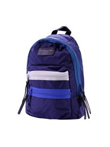 Little Marc Jacobs - Blue backpack with double zip