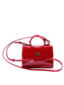 Dolce & Gabbana Jr - Patent red shoulder bag