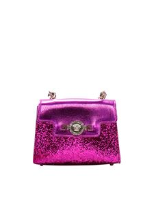 Versace Young - Fuchsia bag with glitter