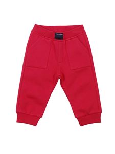 Little Marc Jacobs - Red sweat pants with logo