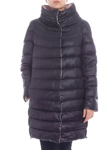 Diego M - Crater collar reversible down jacket