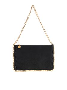 "Stella McCartney - ""Falabella"" black clutch bag"