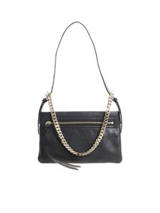 Red Valentino - Black bag with golden chain