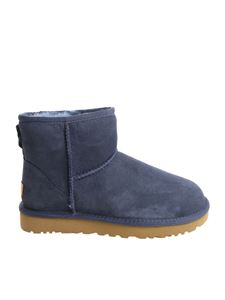 UGG - Classic Mini II ankle boots in blue