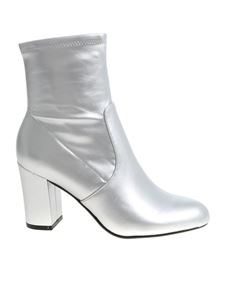 """Steve Madden - """"Actual"""" silver ankle boots"""