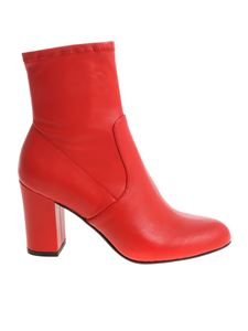 "Steve Madden - ""Actual"" red ankle boots"